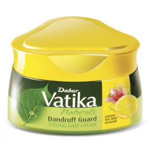 Фото - Крем для укладки волос Дабур Ватика против перхоти (Dabur Vatika Anti-Dandruff Styling Hair Cream), 140 мл.