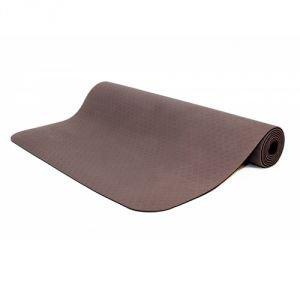 Коврик для йоги shakti шакти, коричневый Йогин - Тонкие коврики (3-4 мм.)