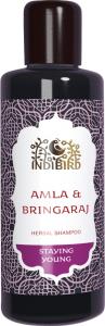 Шампунь амла &amp; брингарадж  Amritha,  210 мл.Шампуни для волос<br>Травяной шампунь Амла/Брингарадж Амла – очень эффективное средство при ломких, поврежденных волосах.<br>