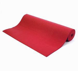 Коврик для йоги shanti шанти, красный Йогин - Недорогие коврики