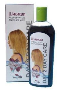 Масло для волос аюрведическое day 2 day care шикакаи Day 2 Day Care (Дэй ту Дэй Кэр), 200 мл. - Уход за волосами