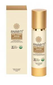 Сыворотка тонизирующая для лица и шеи с экстрактами алоэ и сои анарити skin toning serum anariti  Anariti (Анарити),  100 мл. от Ayurveda-shop.ru