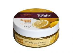 Скраб лимон aasha herbals  ,  150 гр.