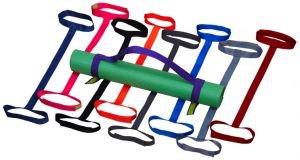 Стяжка для ковриков универсальная фиолетовая