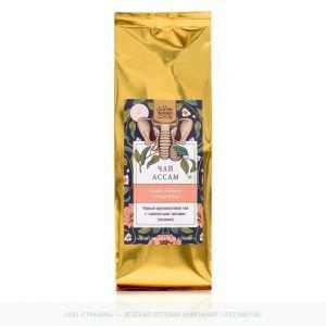Чай чёрный крупнолистовой assam gfop Золото Индии, 100 г. - Травяные чаи, напитки