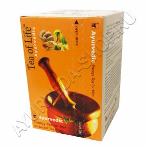 Tea of life energy мужская энергия Tea of Life - Аюрведический чай Tea of Life