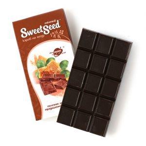 Шоколад темный на меду на основе кэроба Образ Жизни, 85 г. - Полезные сладости