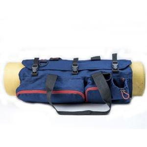 Сумка для йоги, темно-синяя TIMBAG - Для ковриков шириной 80 см.