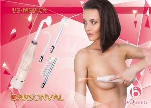 Импульсный массажер для лица и тела дарсонваль US Medica - Косметологические приборы