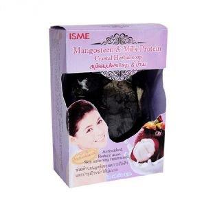 Мыло кристальное мангостин и молочный протеин isme rasyan исме расйян  ISME Rasyan (TP4 International),  80 г.
