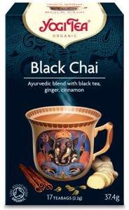 Yogi tea black chai со смесью восточных пряностей  Yogi Tea